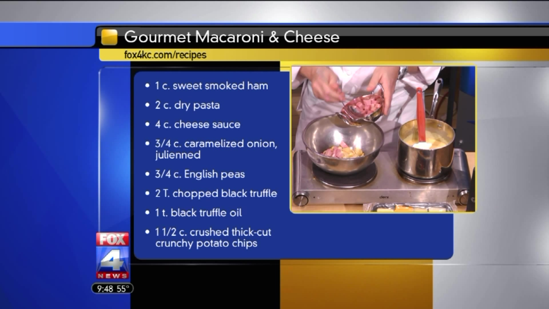 Perfect Holiday Side Dish: Gourmet Mac & Cheese