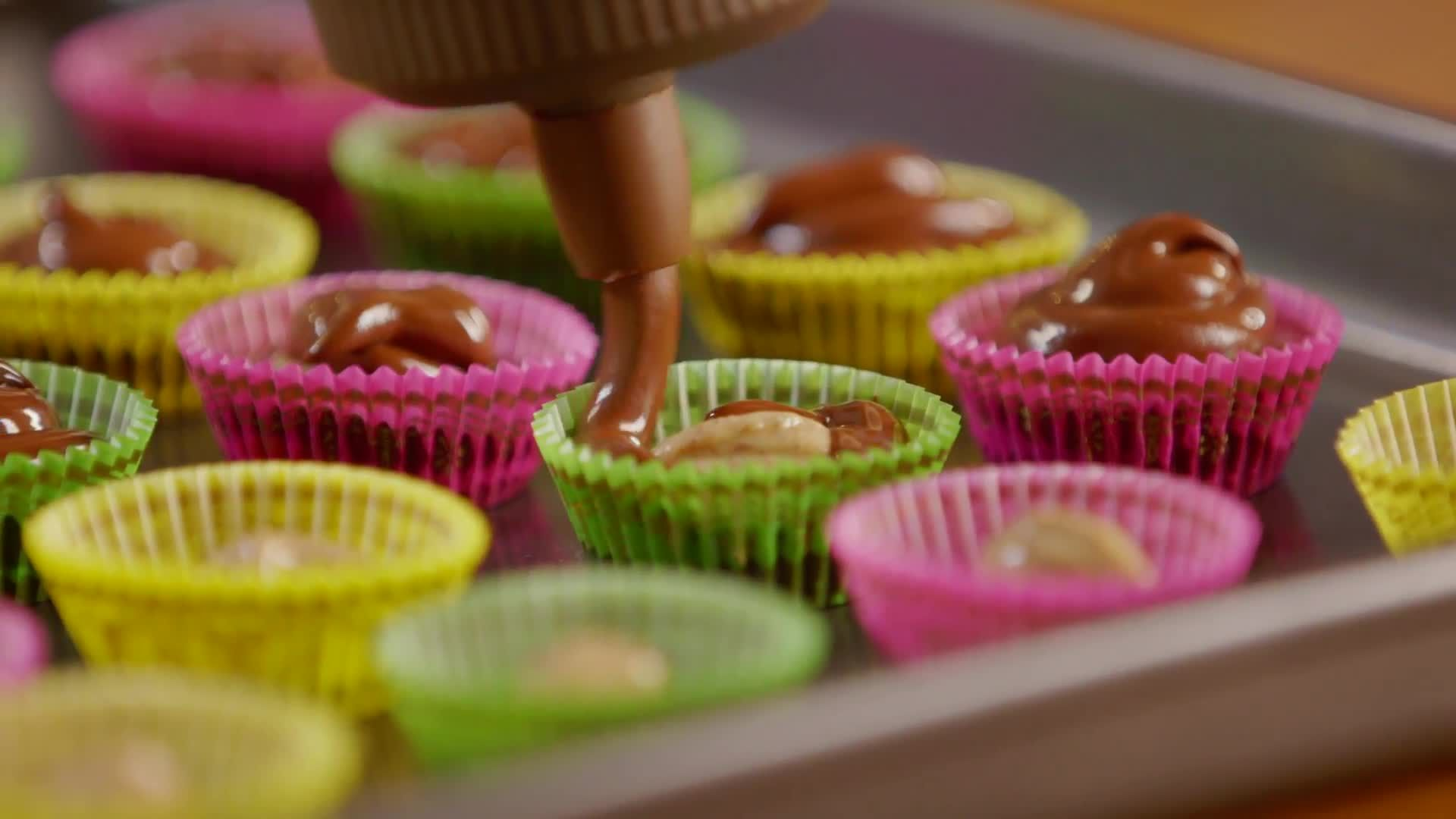Dark Chocolate Almond Butter Cups: The Perfect Party Treat!