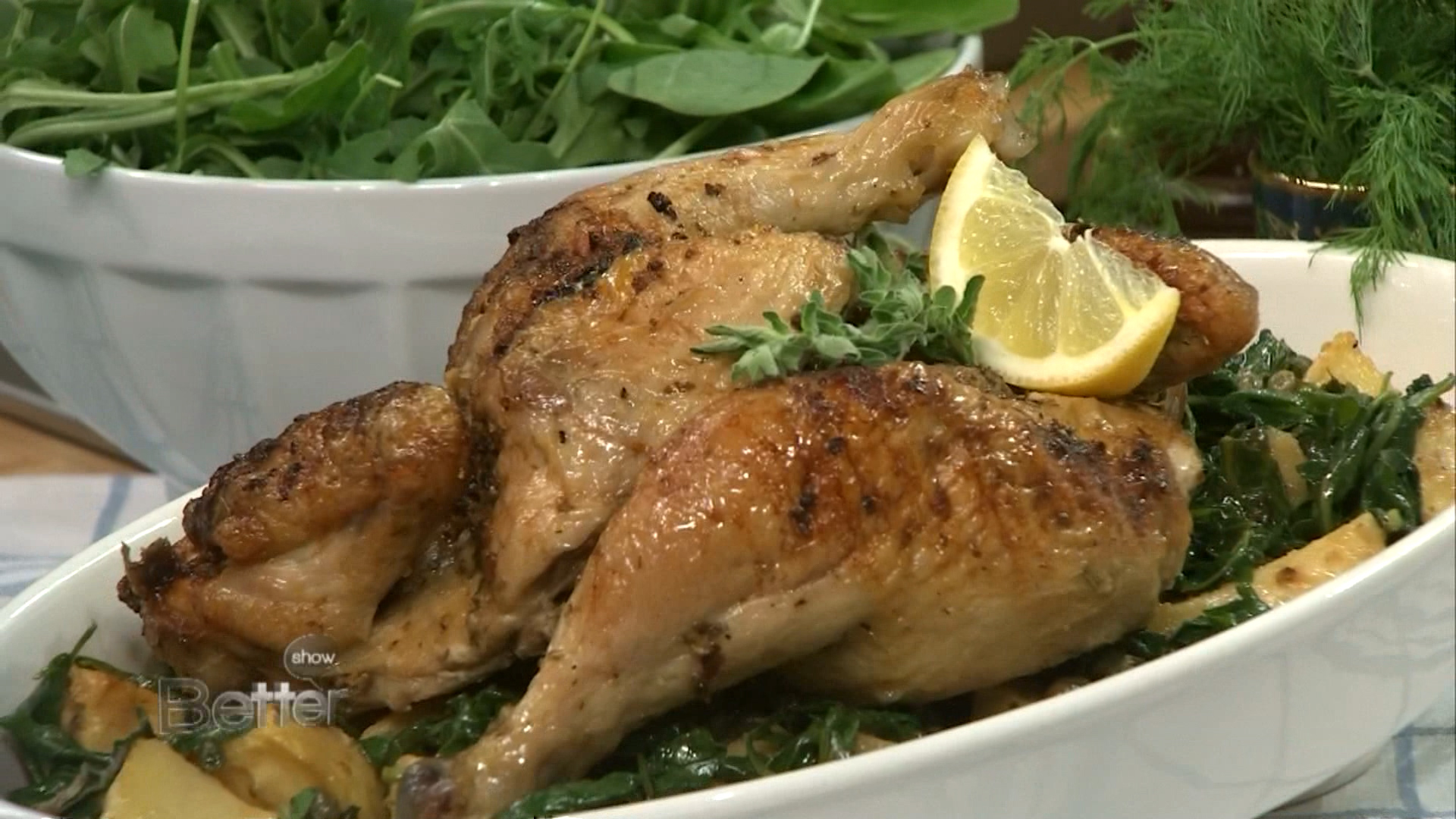 How to Make Greek Roast Spatchcock Chicken with Potatoes
