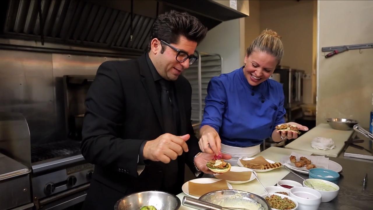 Sweetbread Shawarma with Chef Michelle Bernstein
