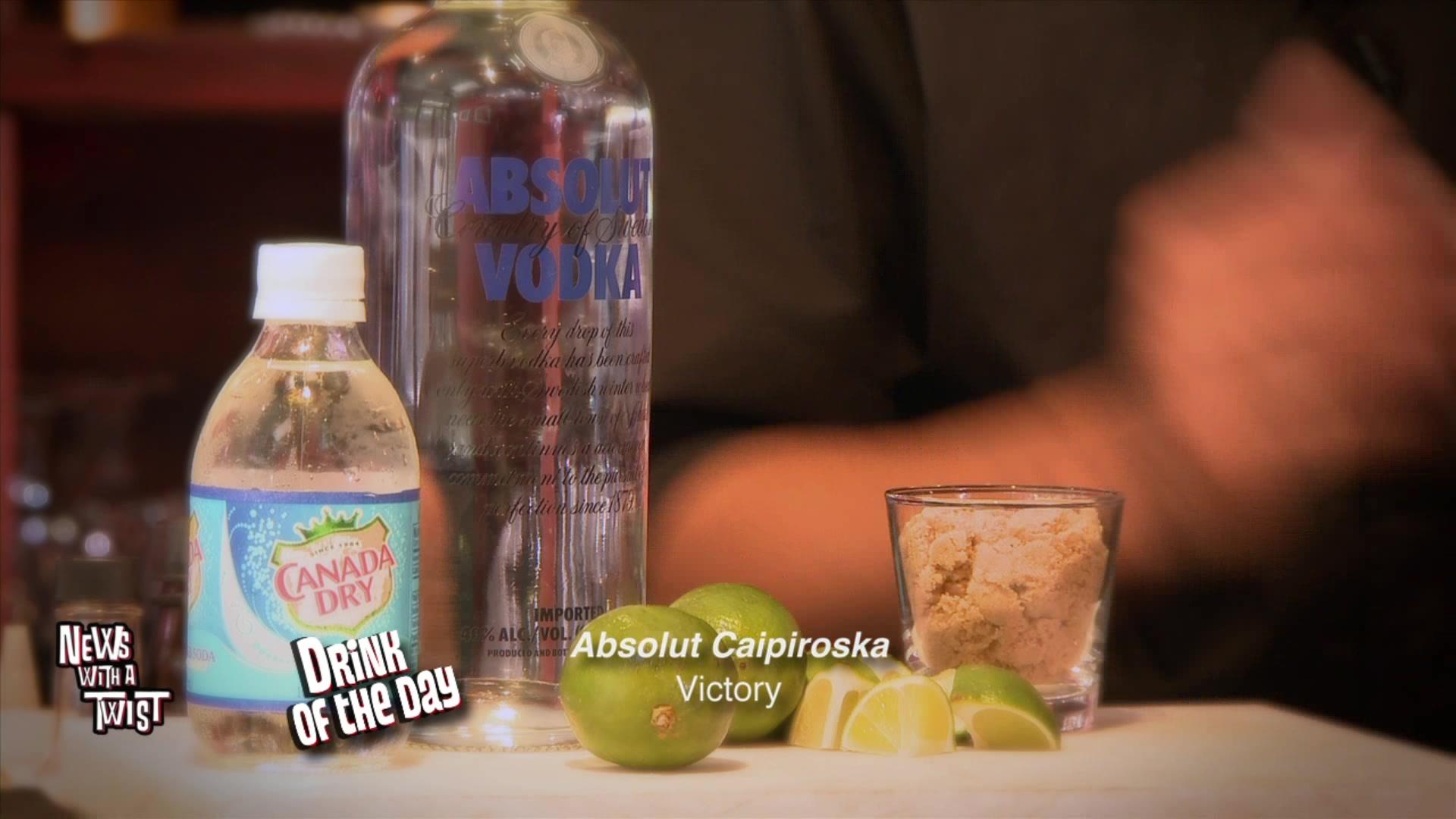 Drink Of The Day: Absolut Caipiroska
