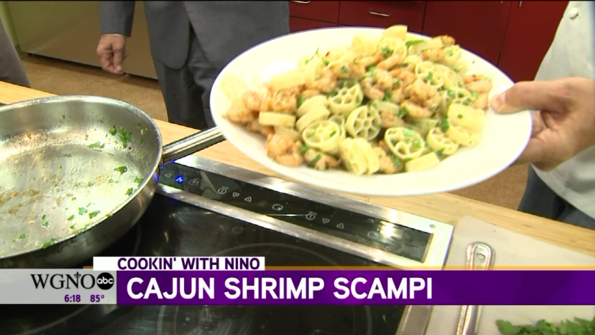 How to Make Cajun Shrimp Scampi