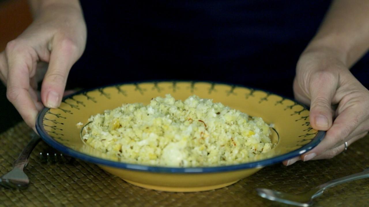 Ellie Krieger Makes Cauliflower 'Rice'