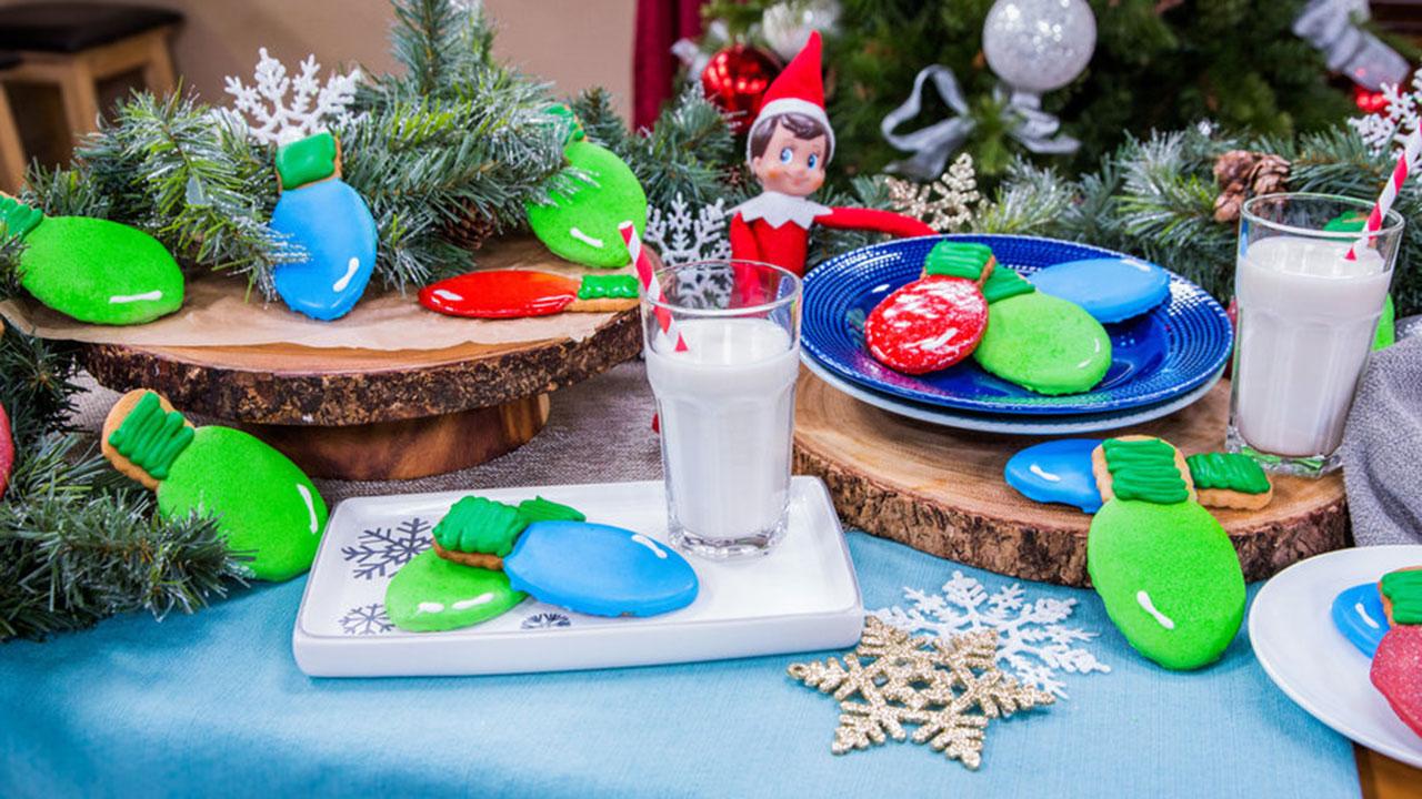 How to Make Christmas Light Cookies