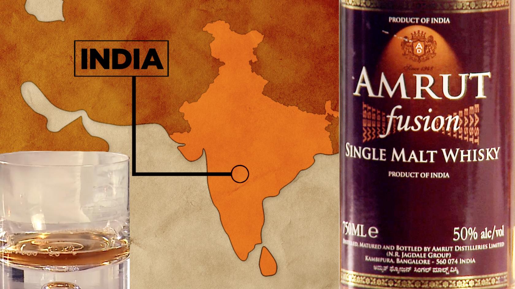 Amrut Fusion Single Malt Whiskey Review