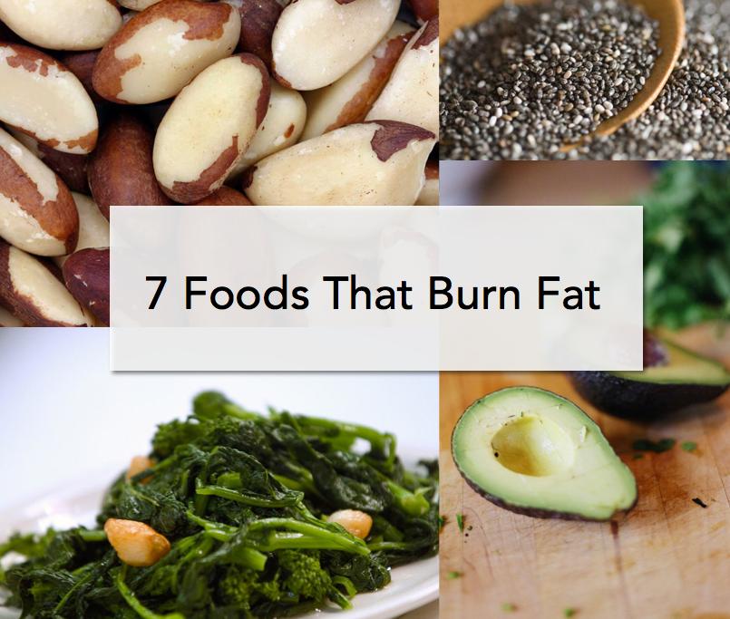 7 Foods That Burn Fat