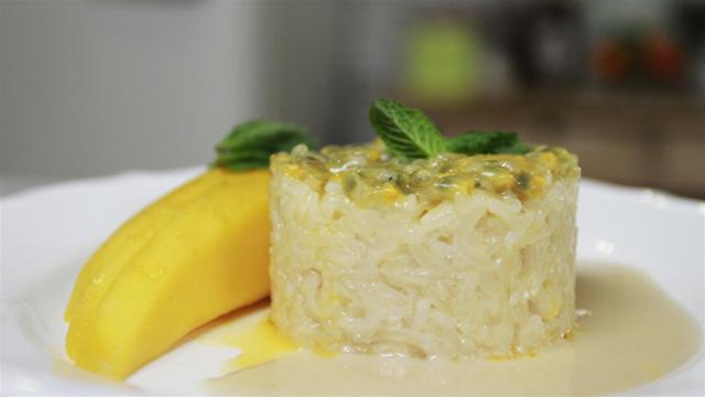 How to Make Thai Sweet Rice with Mango