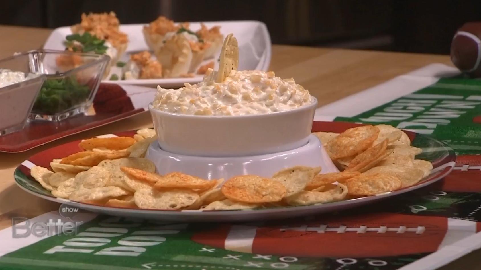 Buffalo Bites and Shoepeg Corn Dip Recipes for the Super Bowl