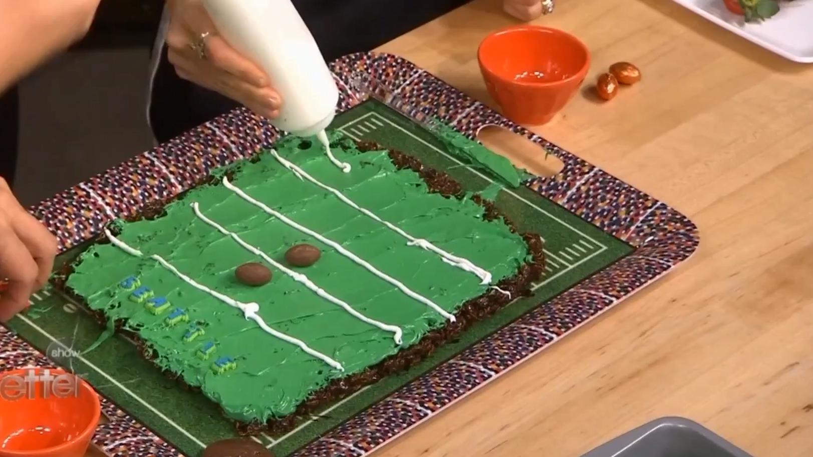 Football Field Dessert Recipe for Super Bowl