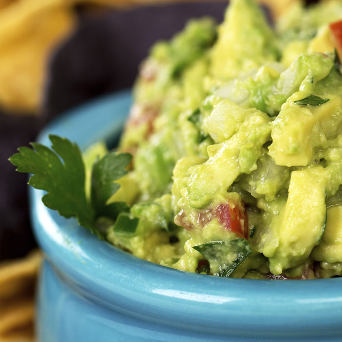 Salty Delicious Game Day Guacamole