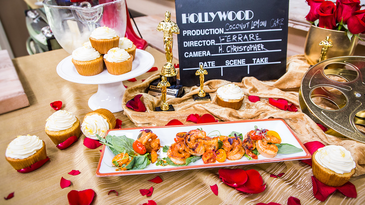 Chef Ronnie Woo's At-Home Oscar Party Recipes