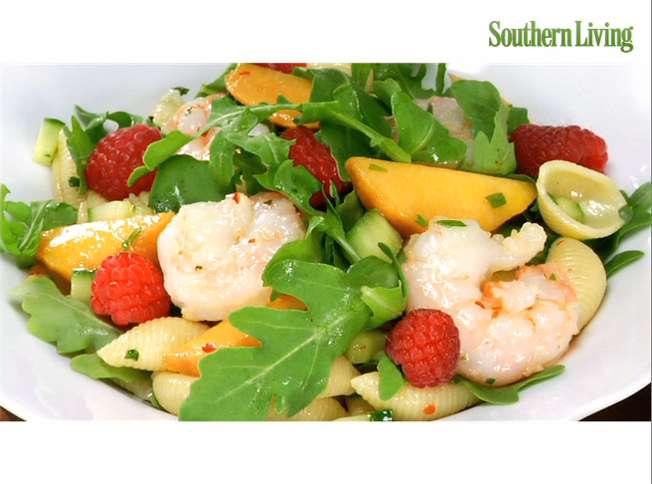 How to Make a Shrimp-and-Pasta Salad