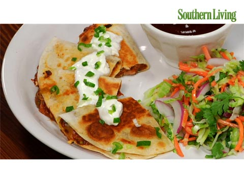 How to Make Barbecued Pork Quesadillas