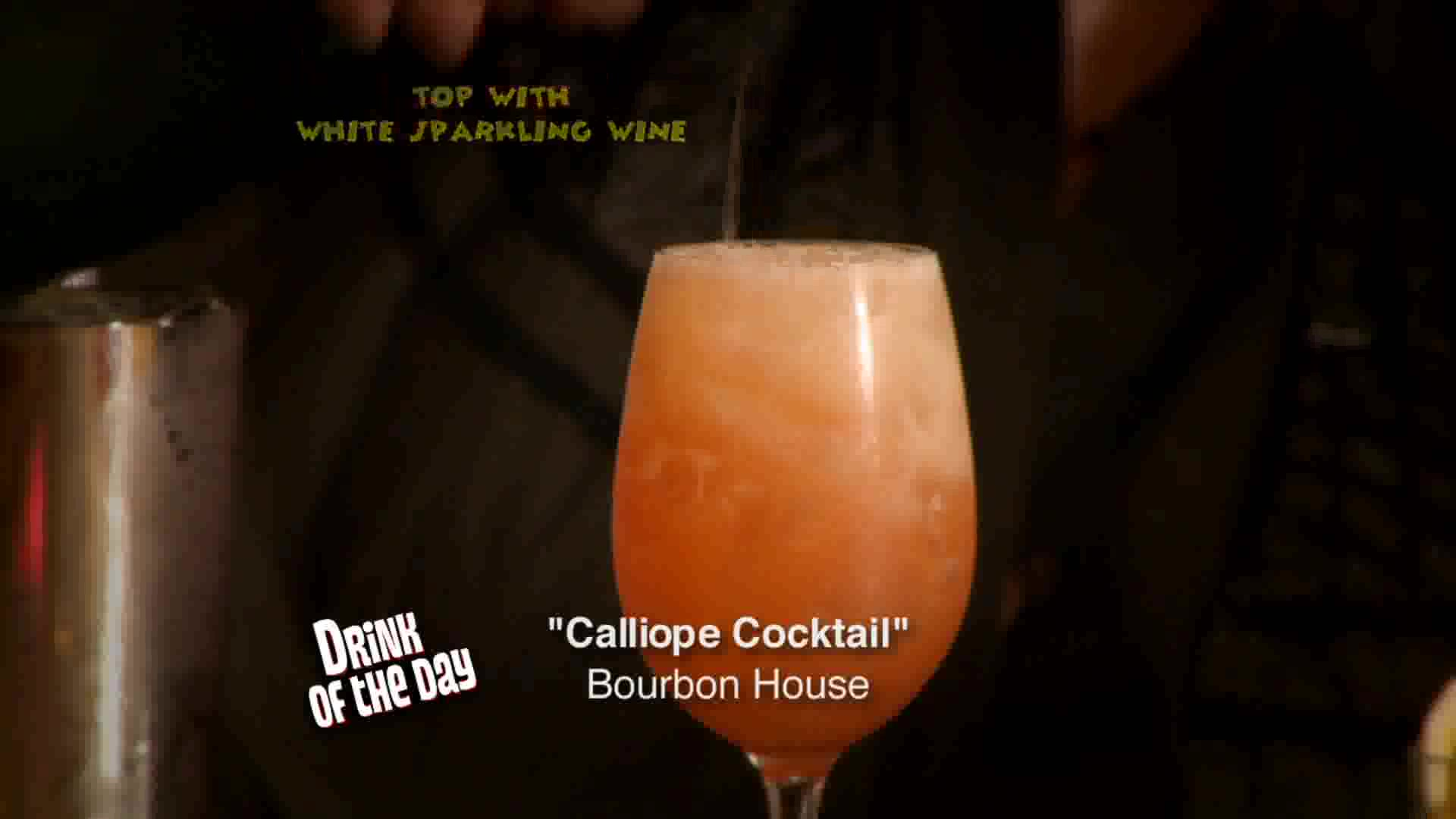 Calliope Cocktail Recipe