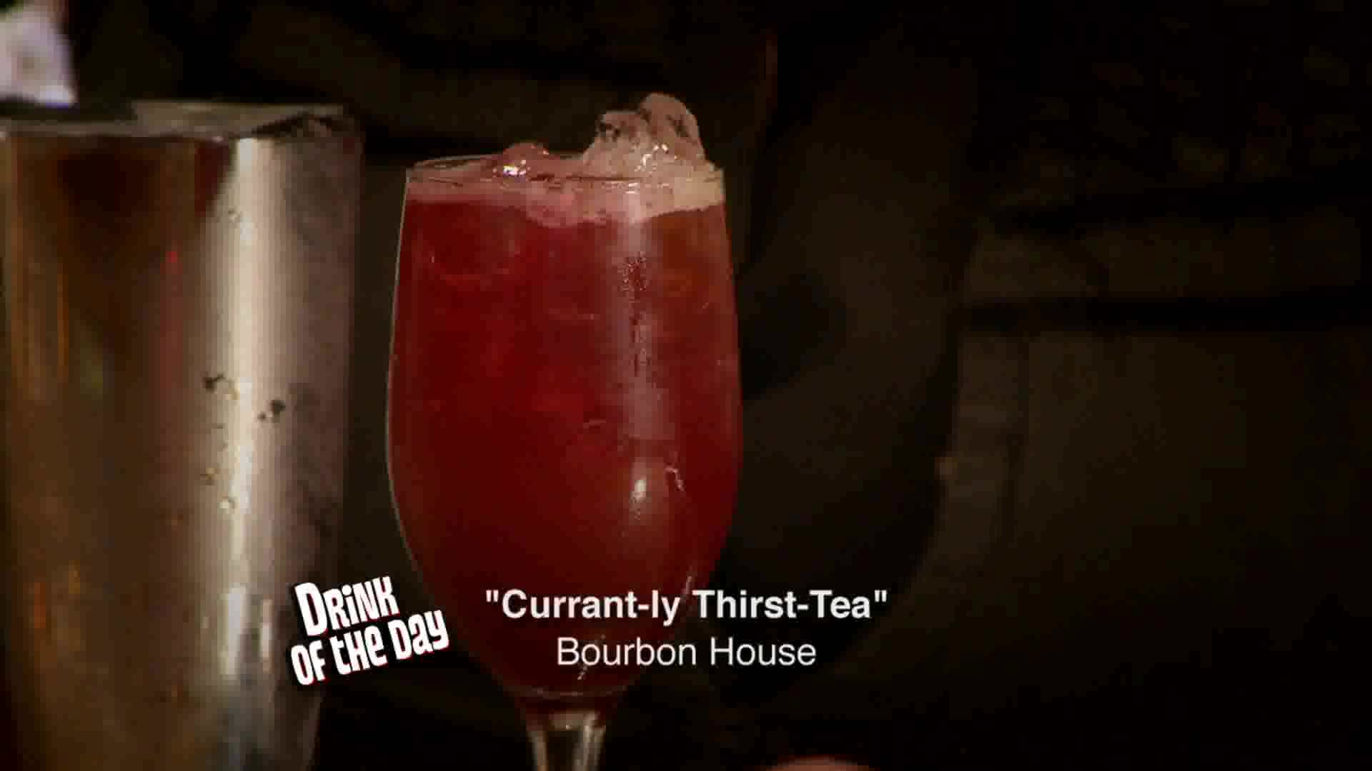 Drink of the Day: Currant-Ly Thirst Tea