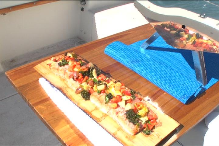 Cedar Plank Baked Salmon Recipe