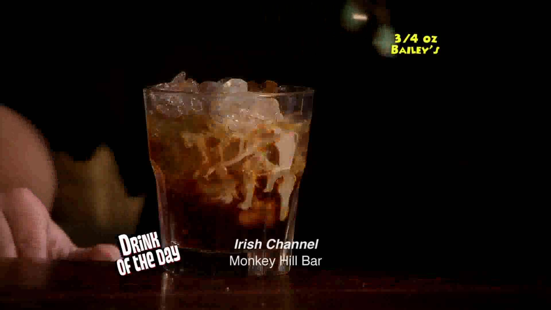 Drink of The Day: Irish Channel