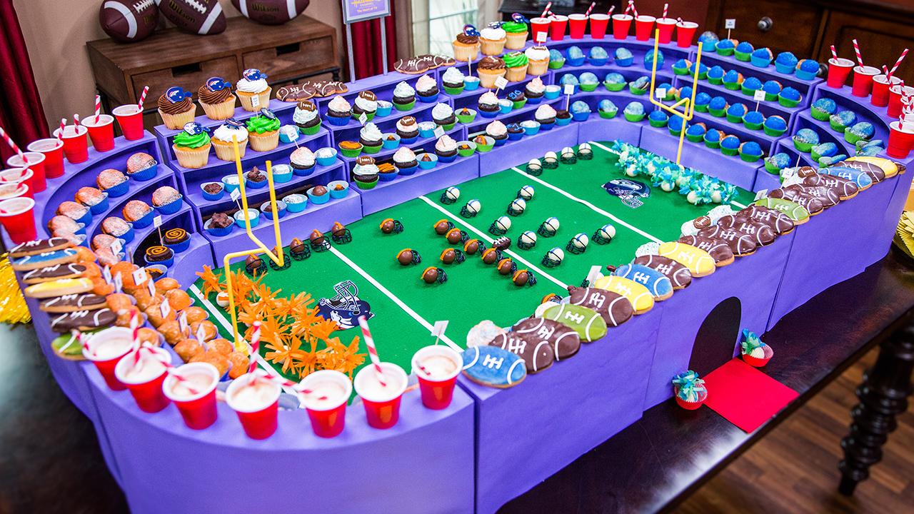 How to Make a Super Bowl Dessert-a-Dome