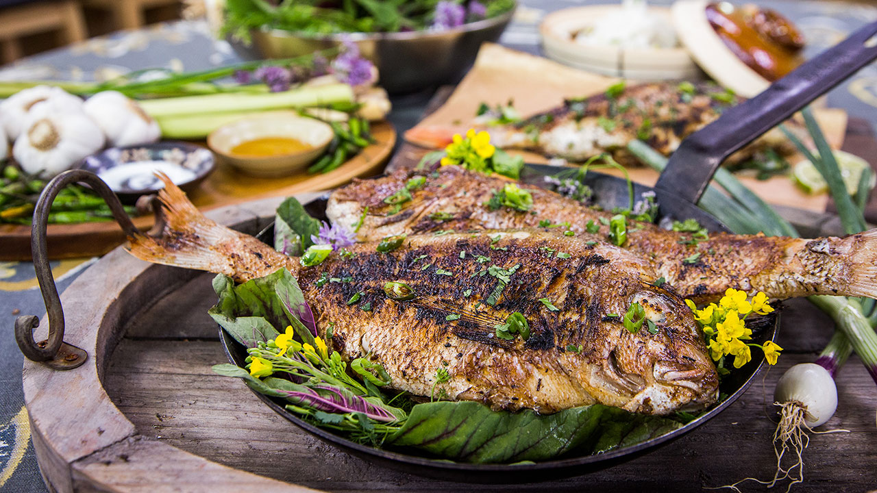Vietnamese Whole Fish and Coconut Rice Recipes