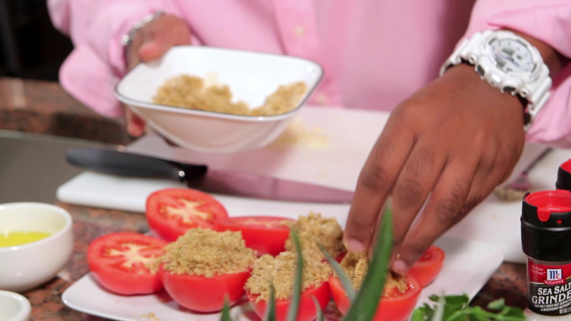 Cena En 20 Minutos Con Chef Cheo: Tomates a La Provenzal