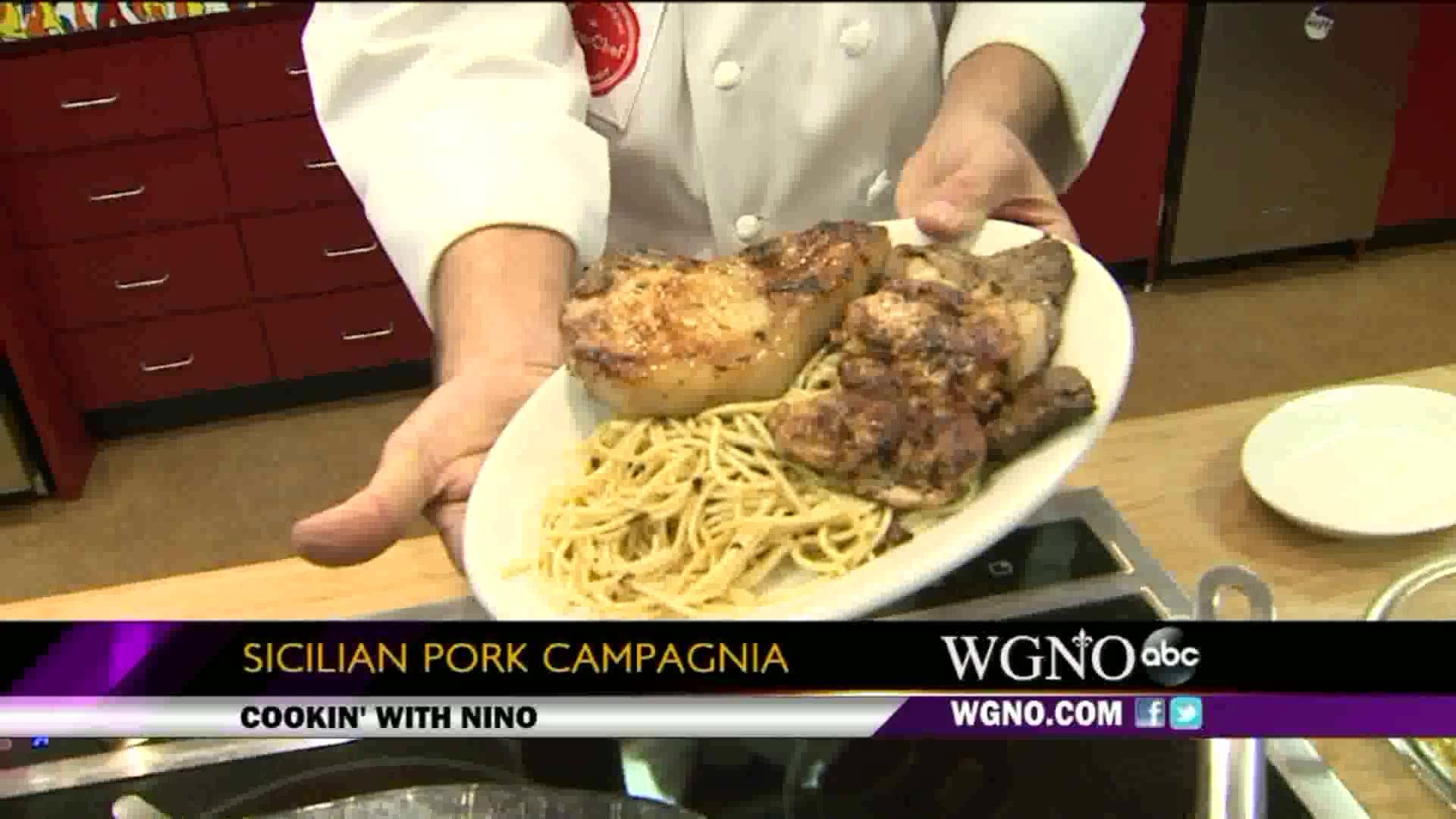 Sicilian Pork Campagnia Recipe