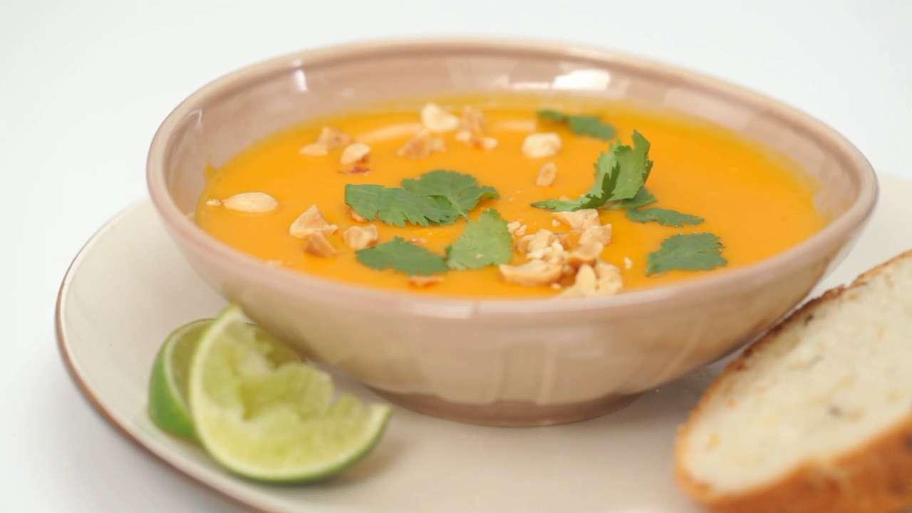 How to Make Thai Butternut Squash Soup