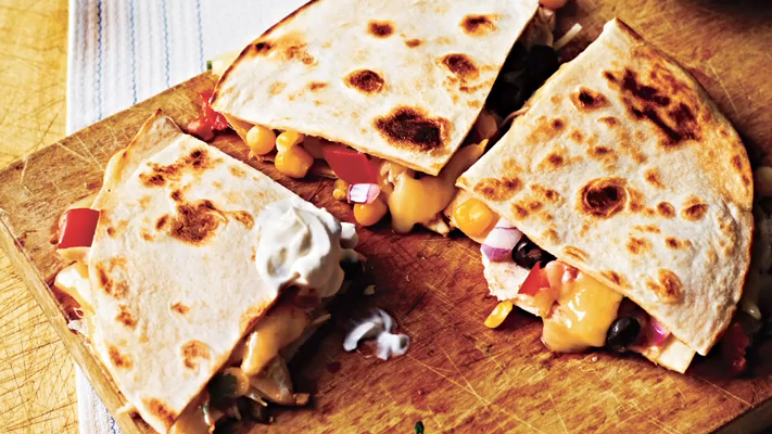 How to Make Spicy Chicken Quesadillas