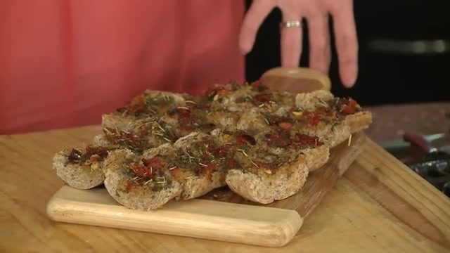 Feel Comforted with Sun Dried Tomato Bruschetta