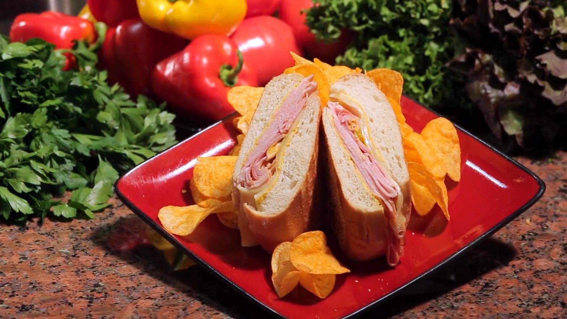 Cena En 20 Minutos Con Chef Cheo - Sandwich Cubano