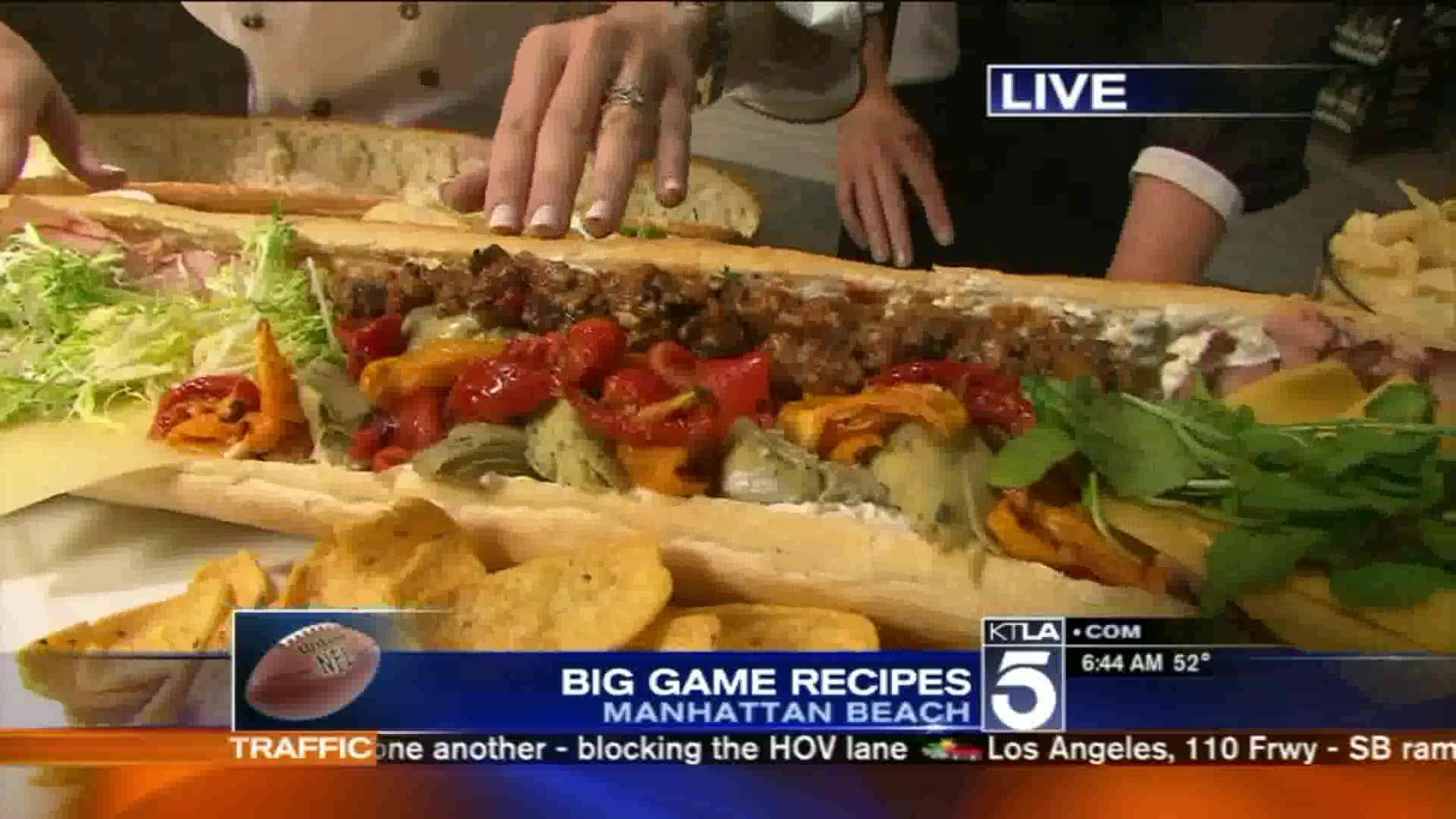 Super Bowl Recipes: Halftime Feast