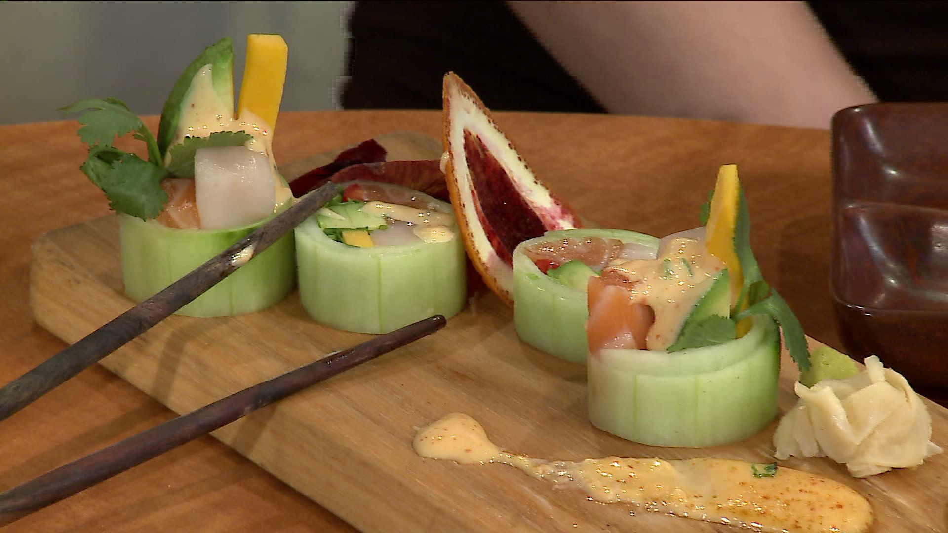 How To Make Cucumber-Wrapped Sushi