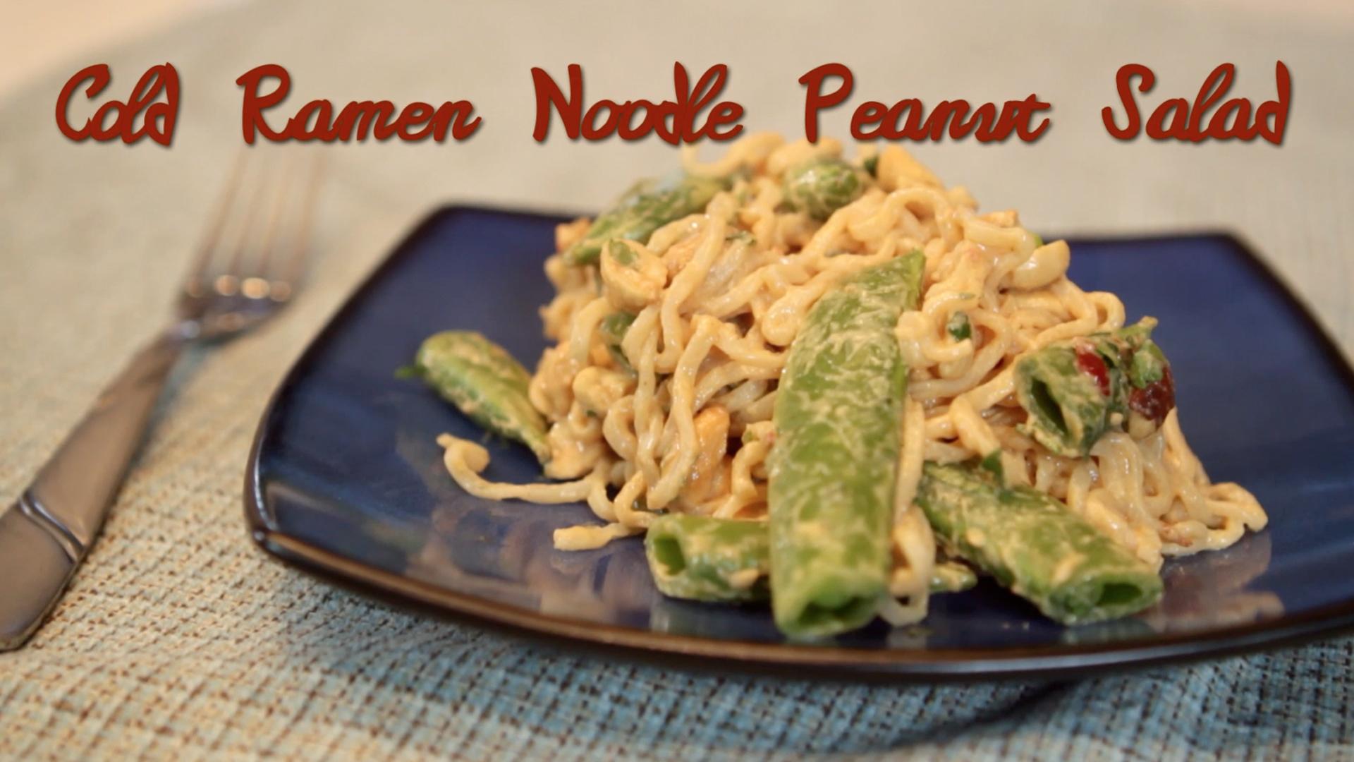 A Deliciously Lowbrow Cold Ramen Noodle Salad