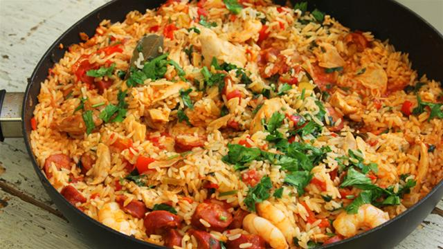Spanish-Inspired Jambalaya Recipe