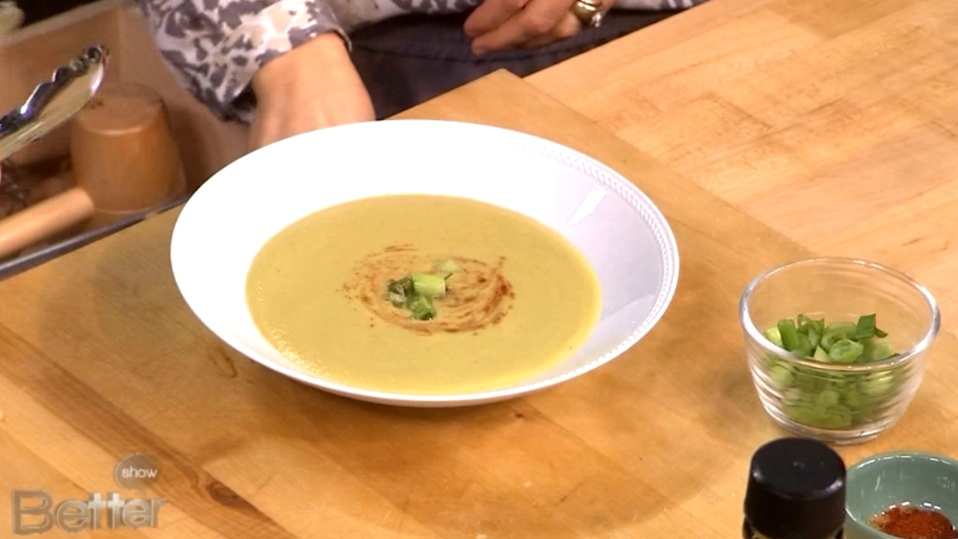 Vegan Mexican Zucchini Soup Recipe