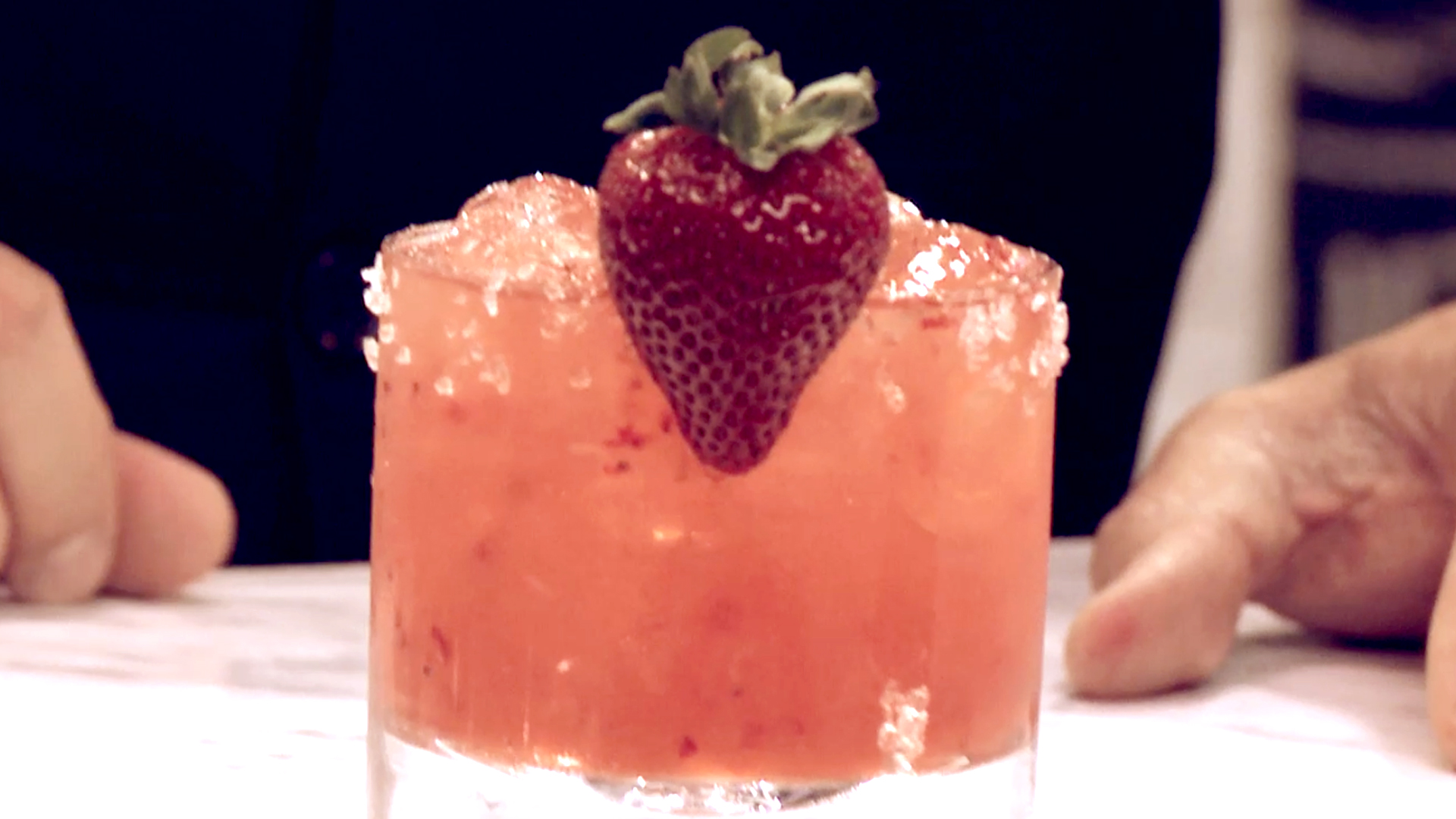 How to Make a Valentine's Day Strawberry Margarita