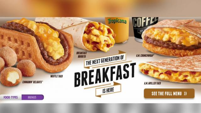 Taco Bell's Breakfast Beating McDonald's According to Survey