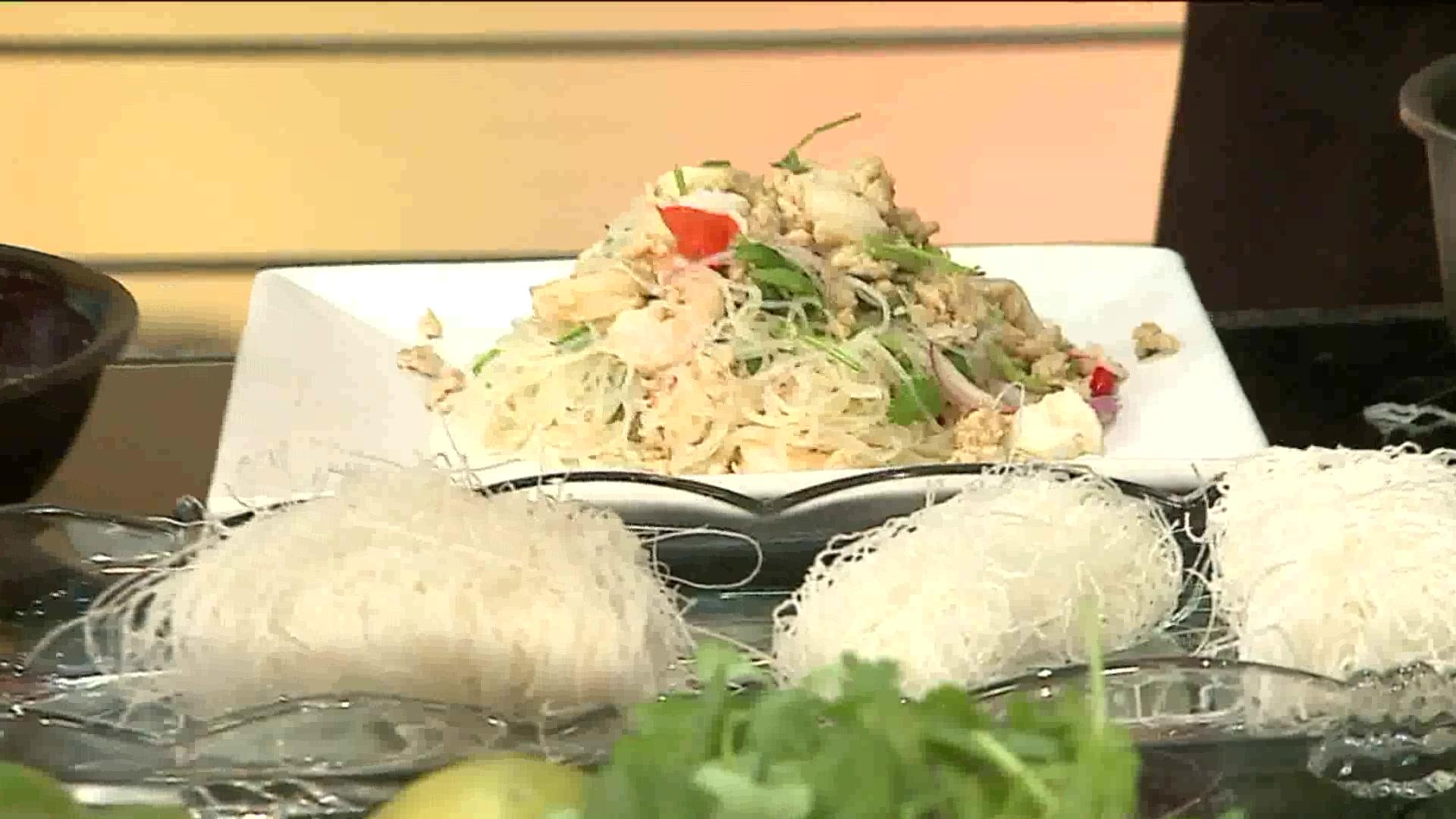 Light and Easy Thai Seafood Glass Noodle Salad