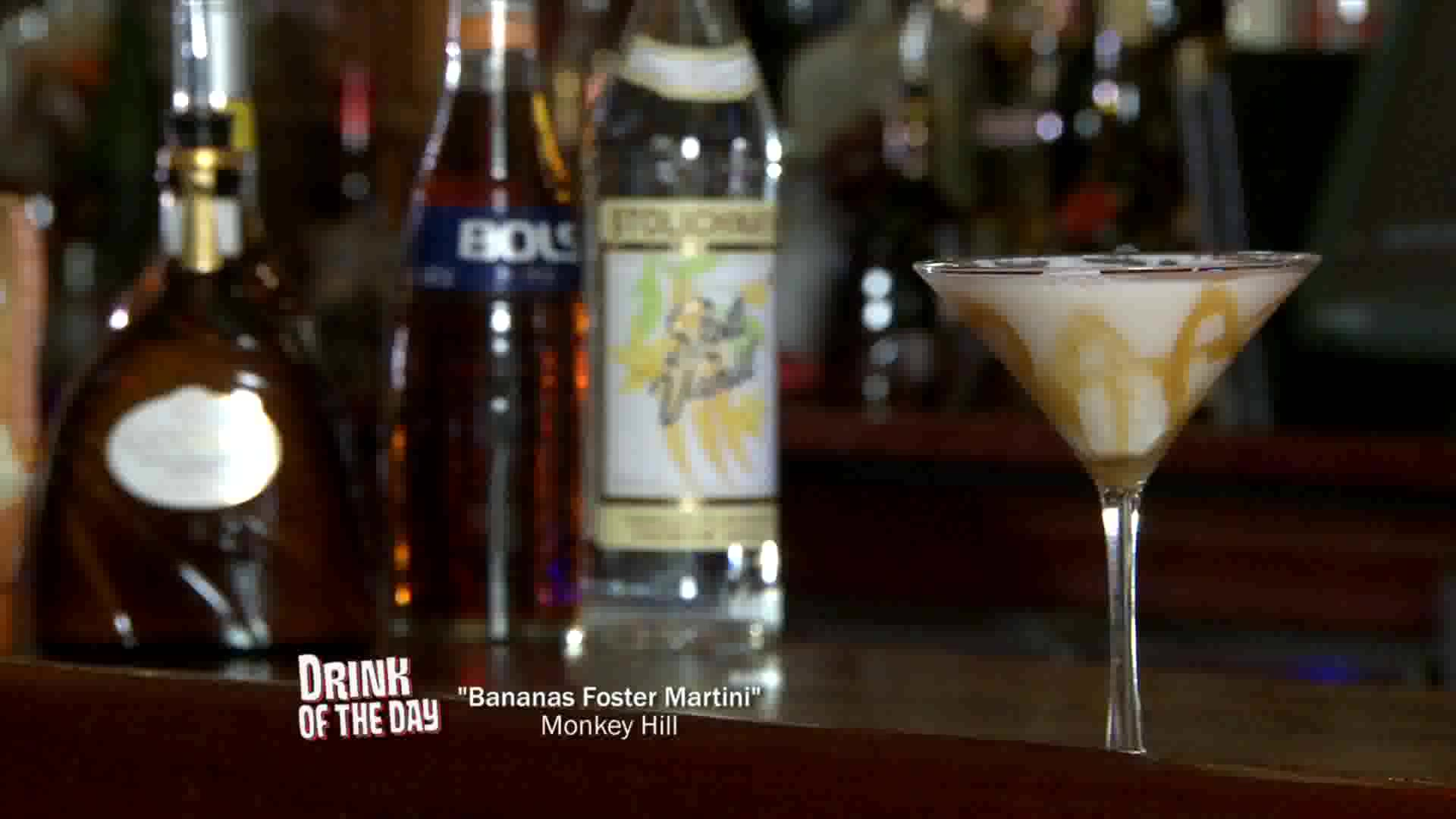 How To Make A Bananas Foster Martini