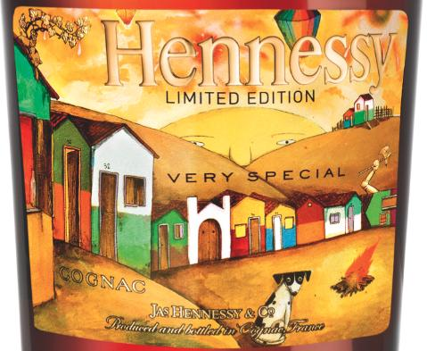 Hennessy Os Gemeos Limited Edition Bottle LA Launch at Emerson Theatre