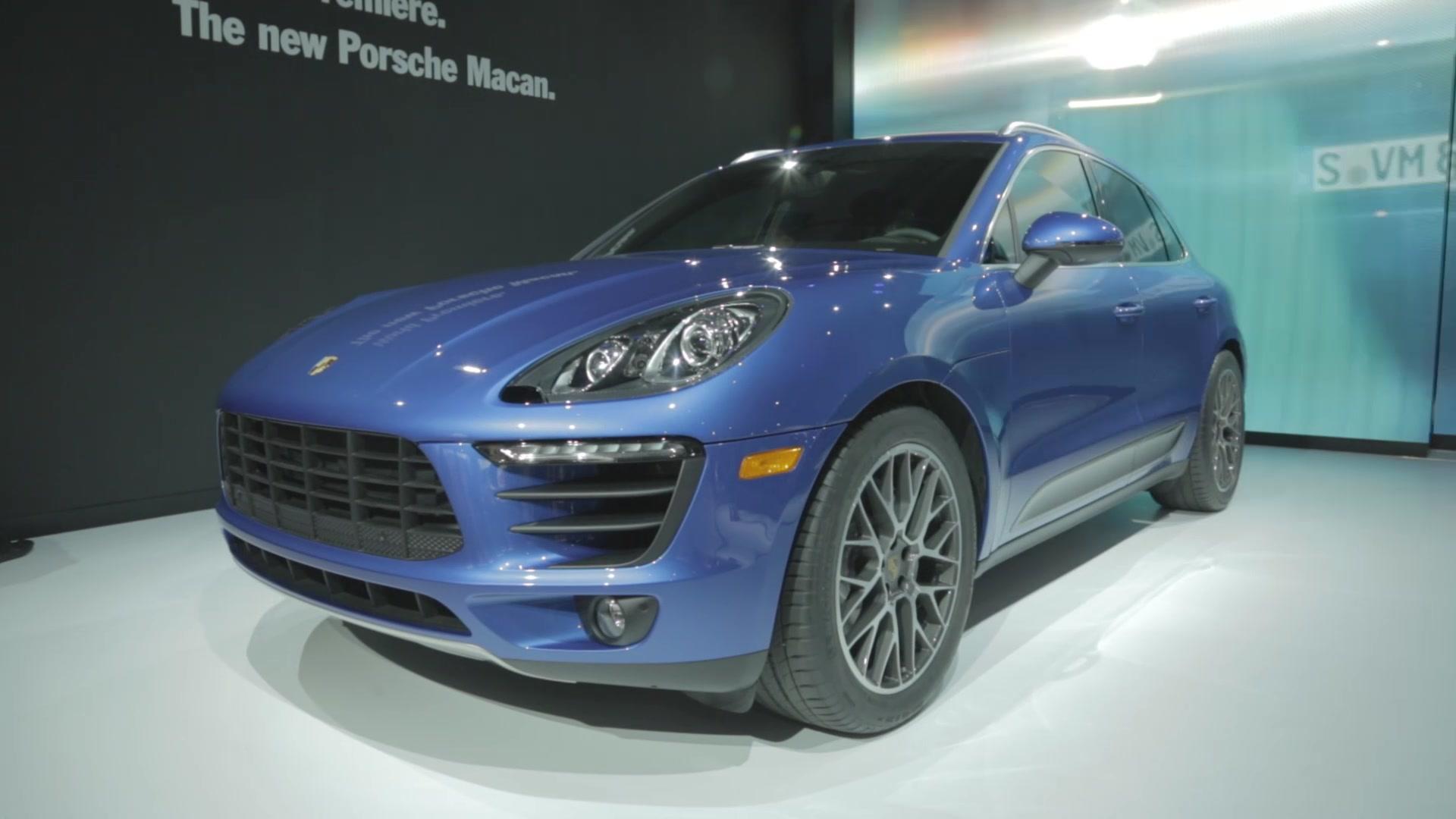 Porsche Macan Crossover Gets Refreshed Interior Bigger Touchscreen