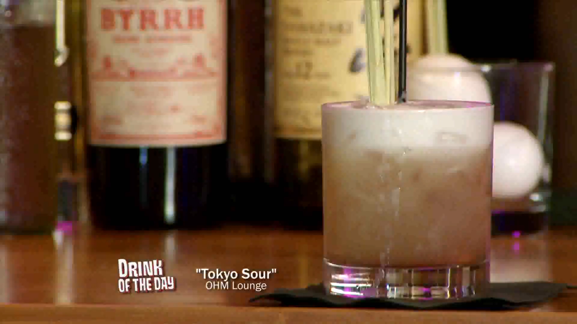How to Make a Tokyo Sour