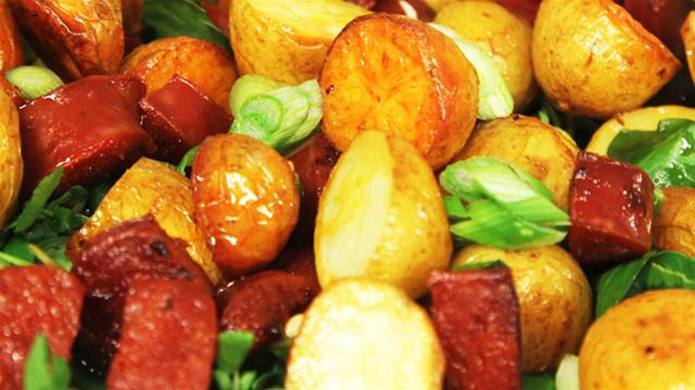 Spanish Potato and Chorizo Salad Recipe