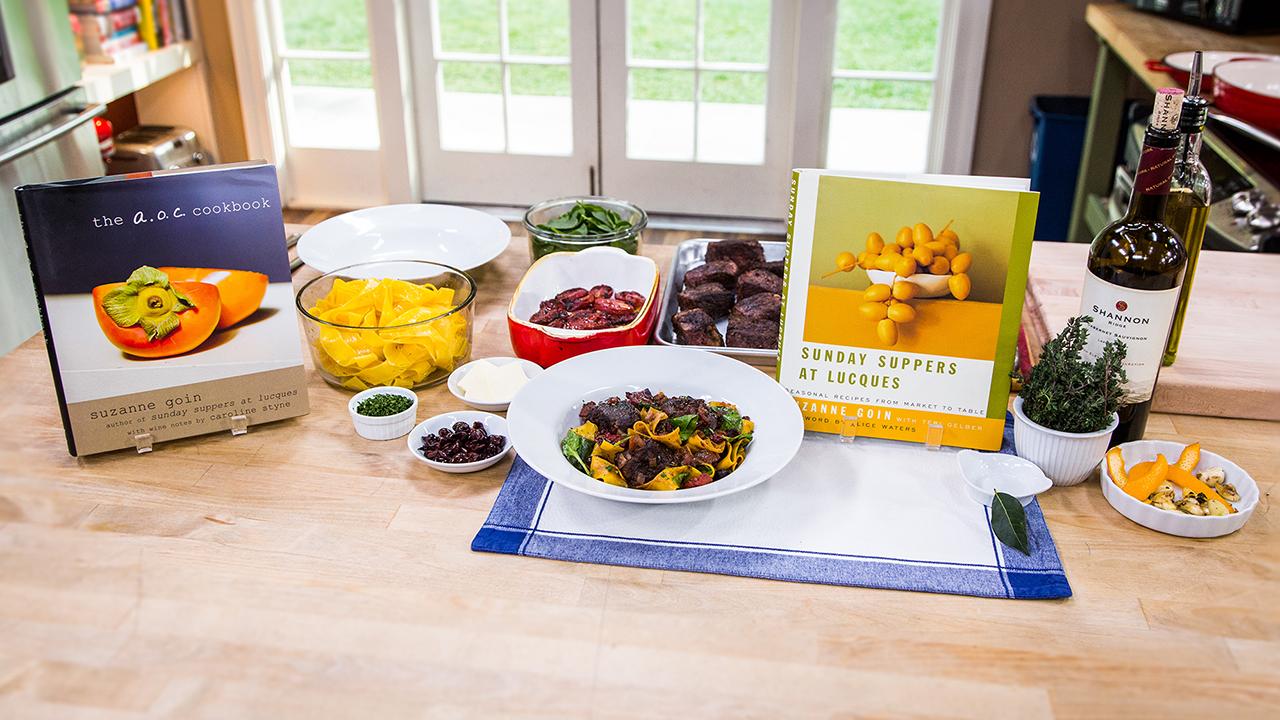 Cristina Ferrare's Boeuf A La Nicoise Recipe