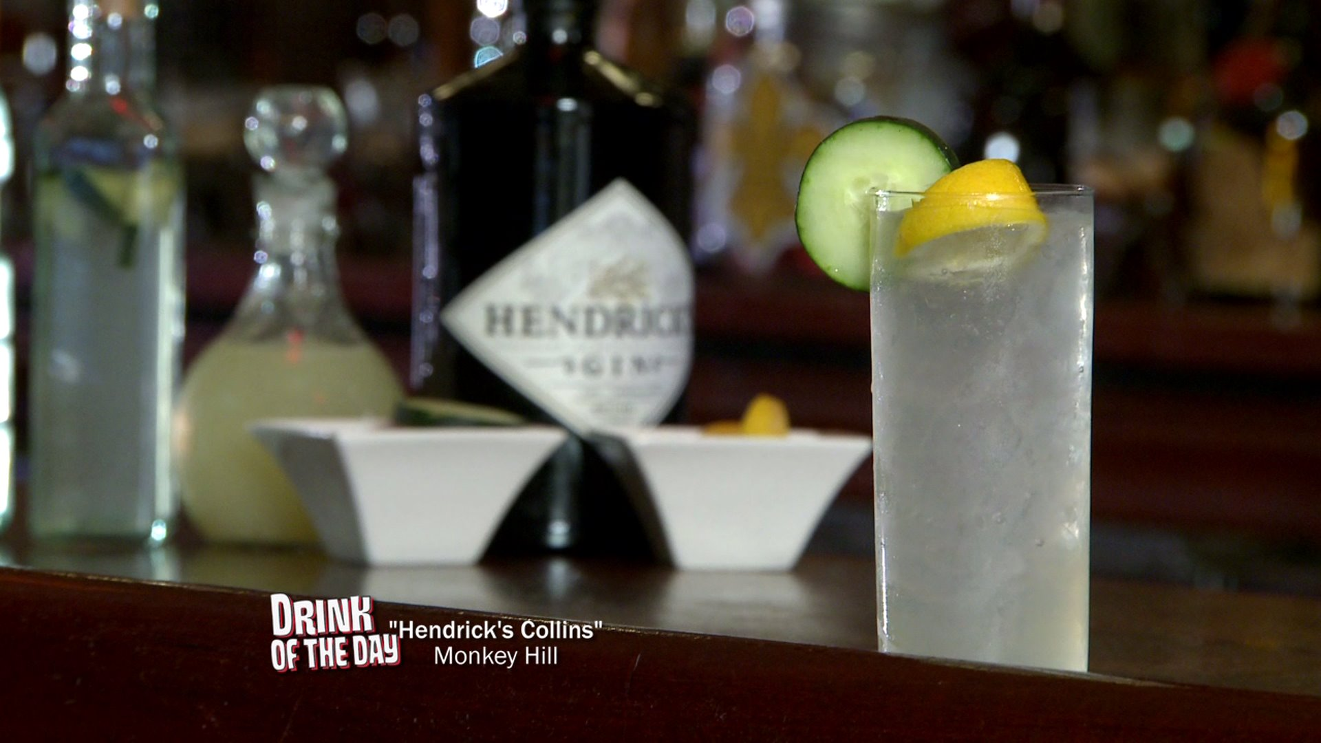 Drink of the Day: Hendrick's Collins