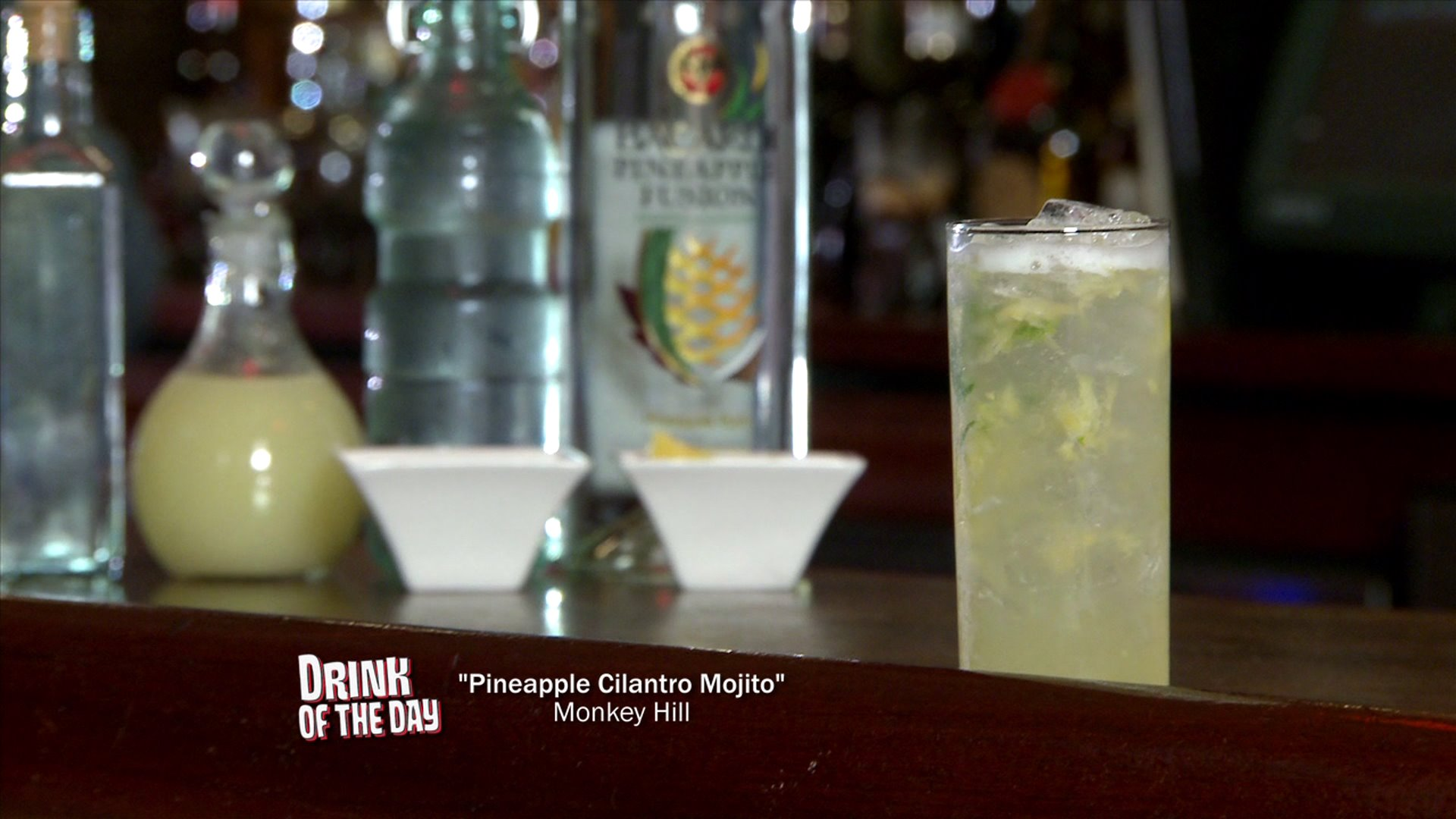 Drink of the Day: Pineapple Cilantro Mojito