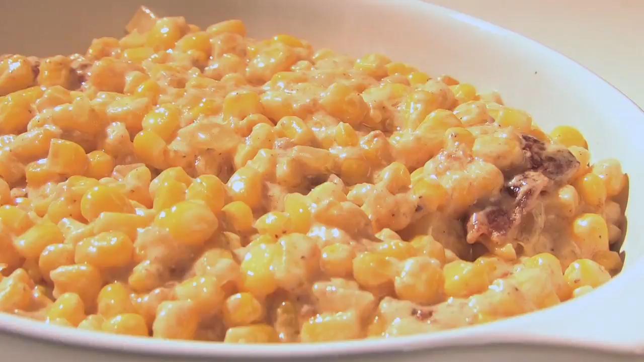 Cheesy Cream Corn Recipe