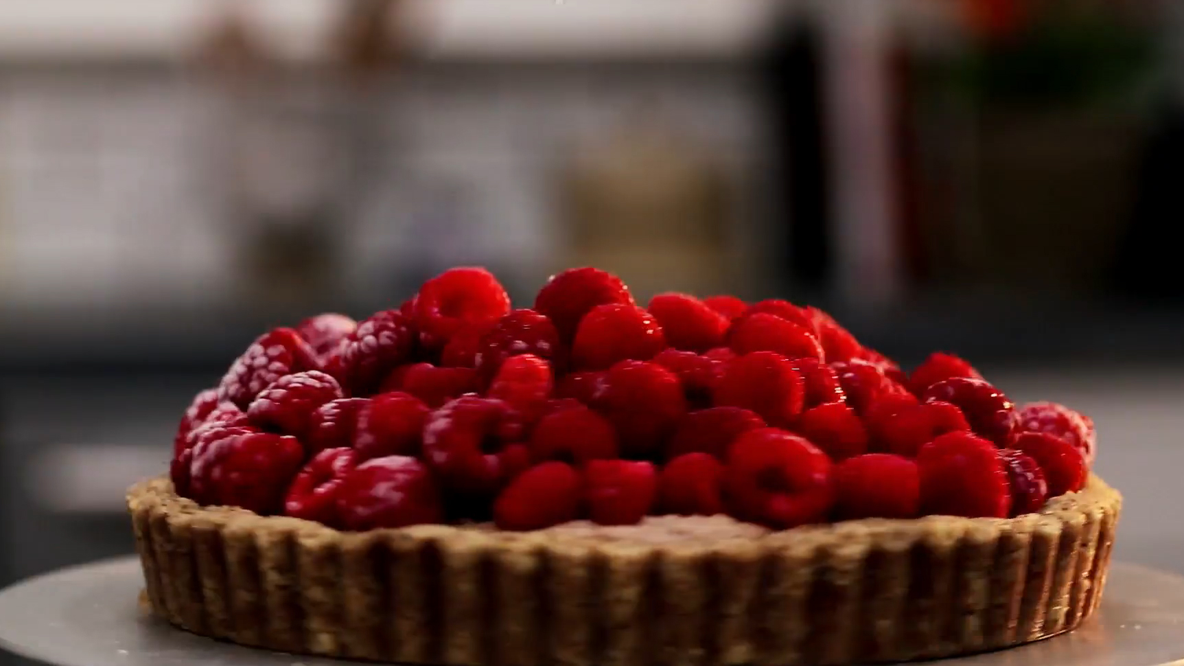 Raw Vegan Raspberry Tart Recipe
