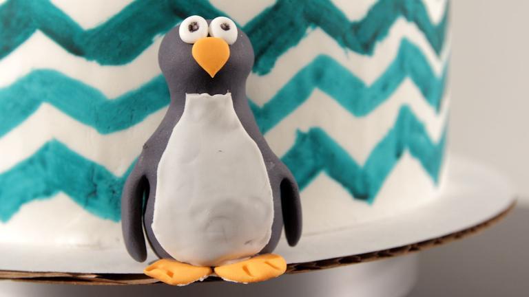 How to Make a Fondant Penguin