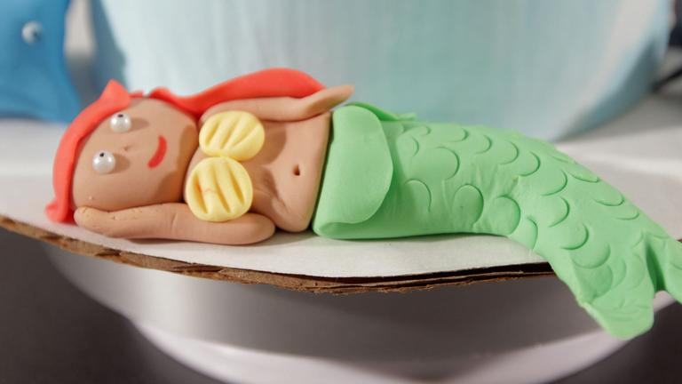 How to Make a Fondant Mermaid