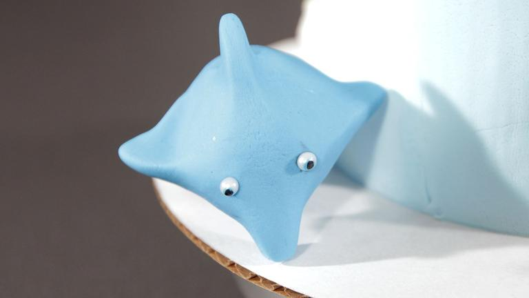 How to Make a Fondant Dolphin